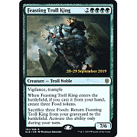 Feasting Troll King ( Foil ) (Throne of Eldraine Prerelease)