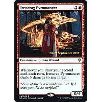 Irencrag Pyromancer ( Foil ) (Throne of Eldraine Prerelease)