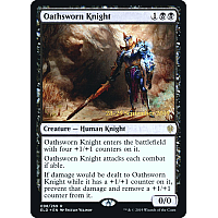 Oathsworn Knight ( Foil ) (Throne of Eldraine Prerelease)