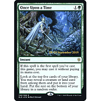 Once Upon a Time ( Foil ) (Throne of Eldraine Prerelease)