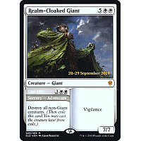 Realm-Cloaked Giant ( Foil ) (Throne of Eldraine Prerelease)