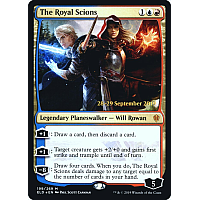 The Royal Scions ( Foil ) (Throne of Eldraine Prerelease)