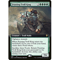 Feasting Troll King (Extended art)