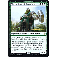 Yorvo, Lord of Garenbrig ( Foil ) (Throne of Eldraine Prerelease)