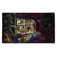 Dragon Shield Play Mat - Christmas Dragon