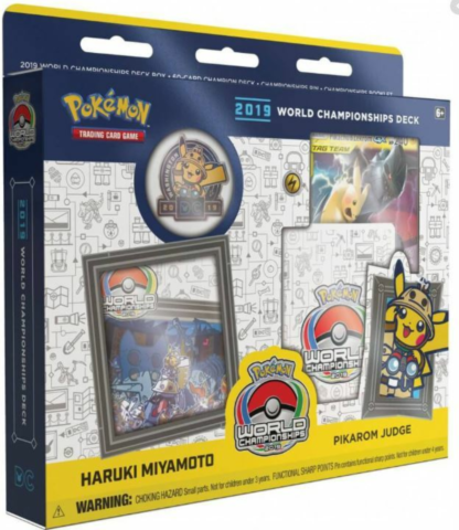 Pokemon - 2019 World Championships Deck -Pikarom Judge_boxshot