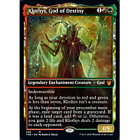 Klothys, God of Destiny (Alternate Art)
