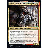 Kroxa, Titan of Death's Hunger ( Foil ) (Theros Beyond Death Prerelease)