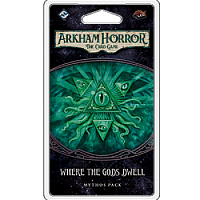 Arkham Horror LCG The Dream-Eaters Cycle: Where the Gods Dwell Mythos Pack