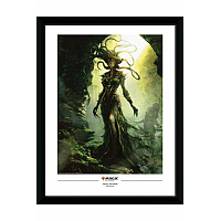 Magic the Gathering Framed Poster Vraska, The Unseen