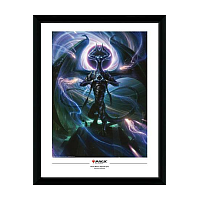 Magic the Gathering Framed Poster Nicol Bolas, Dragon God