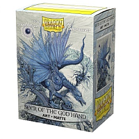 Dragon Shield Matte Art Sleeves - Seer of the God Hand (100 Sleeves)
