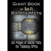Giant Book of Sci-Fi Battle Mats (A3)
