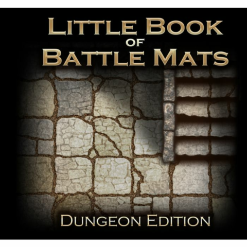 The Little Book of Battle Mats - Dungeon Edition_boxshot