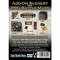 Add-On Scenery for RPG Battle Maps - Dungeon Decorations