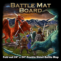 Battle Map Board - Grassland & Dungeon