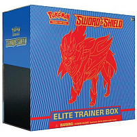 Pokémon - Elite Trainer Box: Sword & Shield - Zamazenta ( Blå )