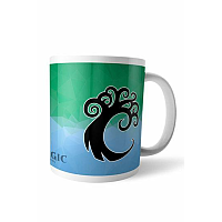 Magic the Gathering Mug Fractal Simic