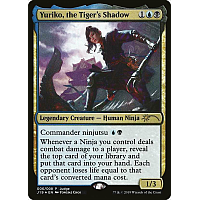 Yuriko, the Tiger's Shadow ( Foil ) ( Judge Promo )