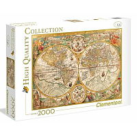2000 bitar - High Quality Collection ANCIENT MAP