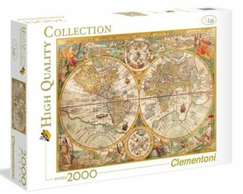 2000 pcs. High Quality Collection ANCIENT MAP_boxshot