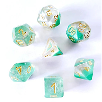 A Role Playing Dice Set: Spring Dew