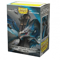 Dragon Shield Matte Art Sleeves - Empire State Dragon (100 Sleeves)
