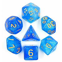A Role Playing Dice Set: Mermaid's Crown