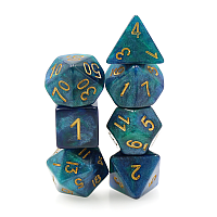 A Role Playing Dice Set: Galaxy Dice