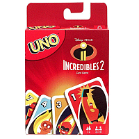 UNO Card Game: Incredibles 2