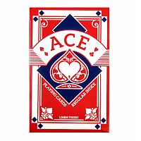 ACE Poker kortlek - Red