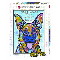 1000 Bitar - Jolly Pets, Dogs Never Lie