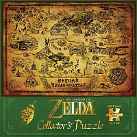 550 bitar - The Legend of Zelda Hyrule Map
