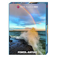 1000 Bitar - Power of Nature, Rainbow