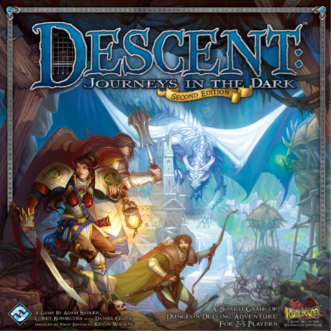 Descent: Journeys in the Dark (Second Edition)_boxshot