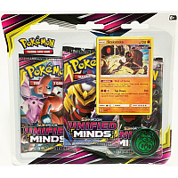 Pokémon TCG: Unified Minds Booster 3PK Blister ( Stakataka )