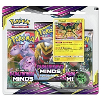 Pokémon TCG: Unified Minds Booster 3PK Blister ( Vikavolt )