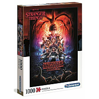1000 bitar - High Color Collection Stranger Things