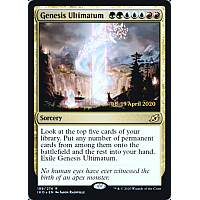 Genesis Ultimatum(Prerelease) (Ikoria: Lair of Behemoths) (Foil)