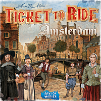 Ticket To Ride: Amsterdam (Sv)