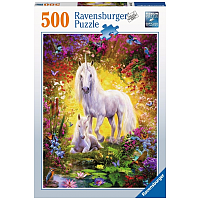500 bitar - Unicorn and Foal