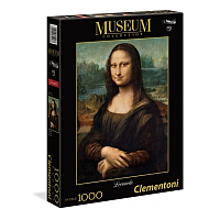 1000 bitar - Museum Collection - Da Vinci Mona Lisa