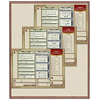 Rome & Roll: Character board