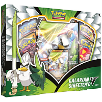 The Pokémon TCG: Galarian Sirfetch'd VBox