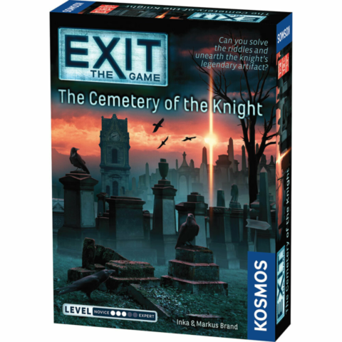 EXIT 11: The Cemetery of the Knight_boxshot