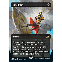 Fatal Push ( Foil ) (Alternate Art)