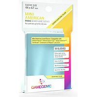 Board Game Sleeves - PRIME Mini American Sleeves 44x67 mm