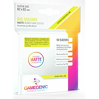 Board Game Sleeves - Matte Big Square Sleeves 82x82 mm