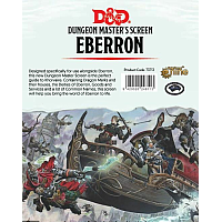 Dungeons & Dragons – Rising from the last war Eberron DM Screen
