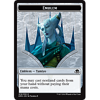 Emblem - Tamiyo, Field Researcher [Token]